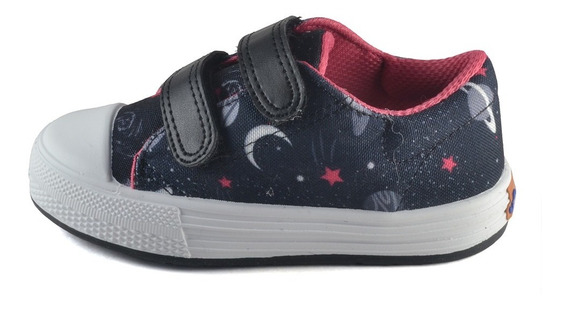 Zapatilla Abrojo Estampado Planets Small Shoes