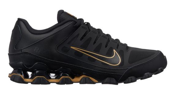 Tenis Masculino Nike Reax 8 Tr Mesh - Preto/dourado
