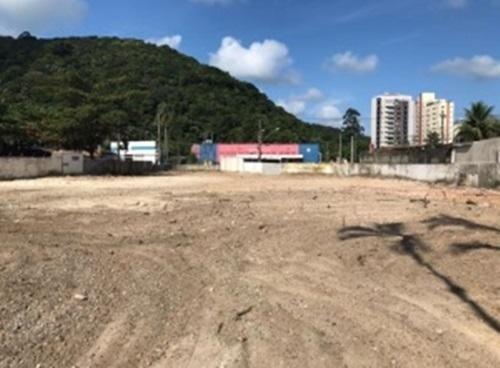 Terreno Para Alugar, 2243 M² Por R$ 13.000,00/mês - Balneário Praia Do Pernambuco - Guarujá/sp - Te0366