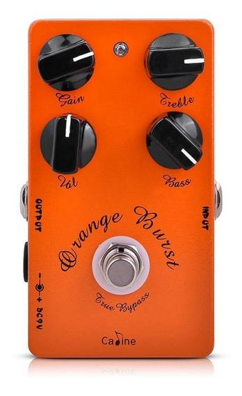 Pedal De Guitarra Caline Orange Burst Overdrive + Nf + Garantia