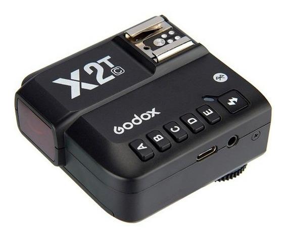 Transmissor Godox X2t Ttl Sem Fio 2,4 Ghz Para Canon