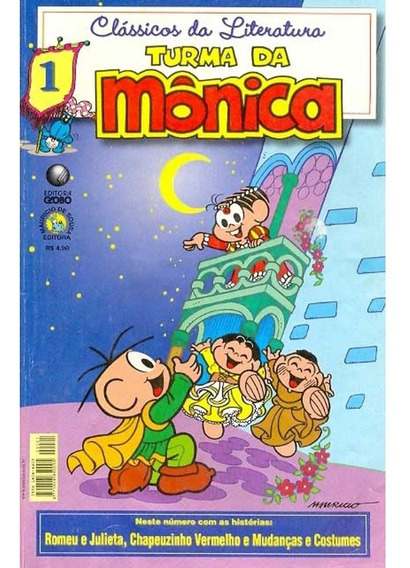 Gibi Clássicos Da Literatura - Turma Da Mônica - Ed. 01