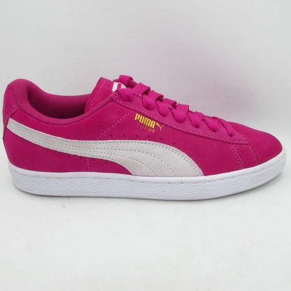 Tenis Puma Suede Classic Wn´s 355462 38 Fuchsia Purple-puma