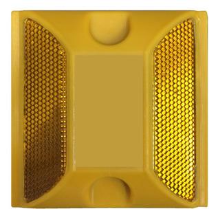 Tacha Amarilla Reflectiva Para Señalización Vial Iael Sg-044