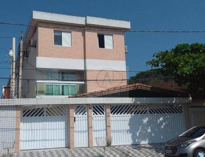 Casa Com 3 Dormitórios À Venda, 134 M² Por R$ 490.000 - Vila Cascatinha - São Vicente/sp - Ca1477