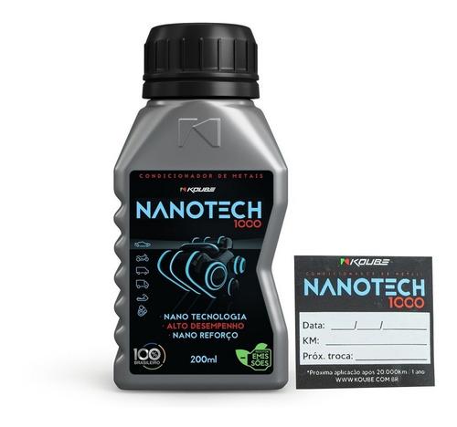 Nanotech 1000 Condicionador De Metais Koube Brinde Etiqueta