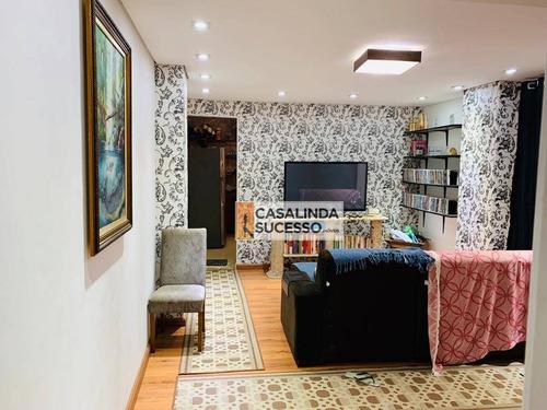 Sobrado Com 3 Dormitórios À Venda, 150 M² Por R$ 500.000,00 - Parque São Rafael - São Paulo/sp - So1007
