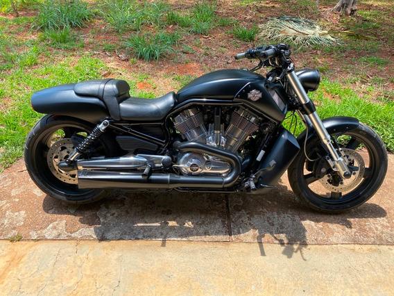 Harley Davidson V-rod Muscle Preta Fosca