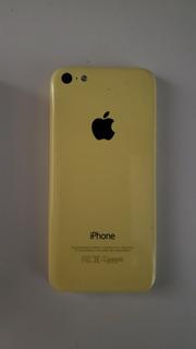 iPhone 5c 8gb Amarelo - Cm Defeito Na Tela