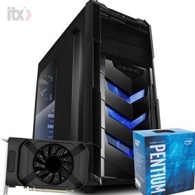 Pc Gamer Pentium G4560 3.5ghz / Gtx 1050 2gb / 8gb / 1tb