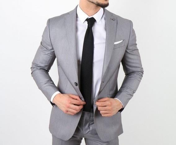 Saco Blazer Elegante Hombre Slim Fit