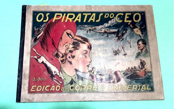 Album Os Piratas Do Ceo Original Ediç Correio Universal 1937