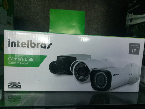 Câmera Intelbras Ip Mini Bullet Modelo Vip 1120 B Nova