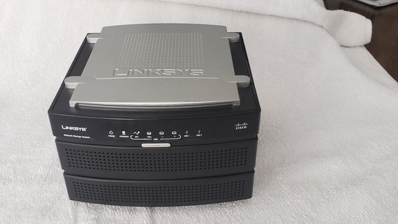 Nas 200 Linksys Cisco + 2 Hd