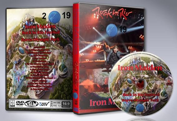 Dvd Iron Maiden - Rock In Rio Festival 2019 Brazil