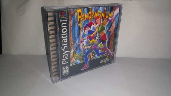 Ps1 Pandemonium Patch-cd Preto
