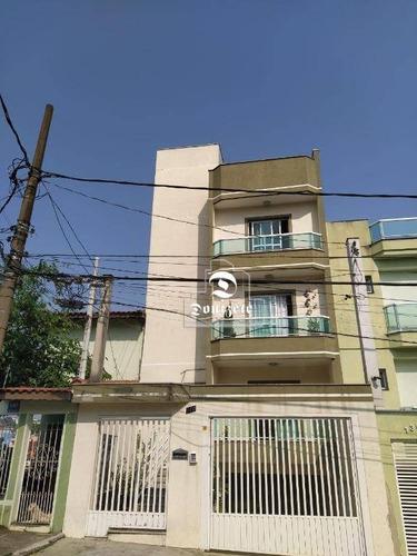 Cobertura Com 3 Dormitórios À Venda, 144 M² Por R$ 450.000,00 - Parque Novo Oratório - Santo André/sp - Co11556