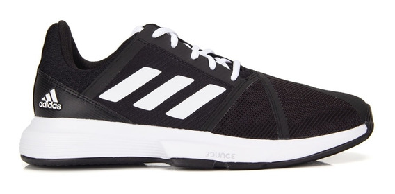 Tênis adidas Courtjam Bounce Preto E Branco