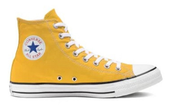 Tenis Converse Chuck Taylor All Star Amarelo Vivo Ct04190034