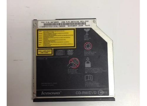 Imagen 1 de 3 de Ibm Lenovo 39t2685 Optical Cd-rw Dvd-rom Z60 Z61 T60 T60p