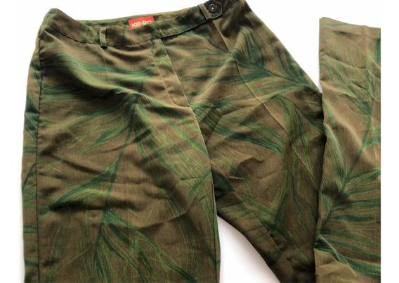 Pantalón Mujer Kenzo De Seda