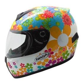 Capacete Nasa Sh-821 Flowers