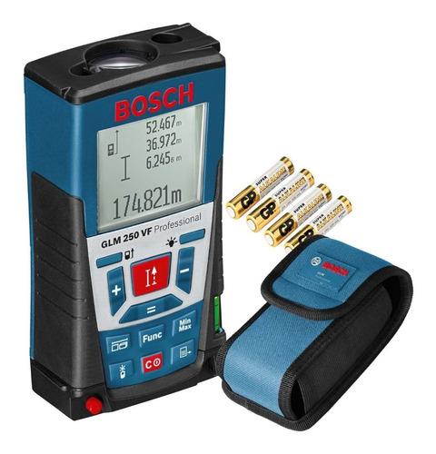 Medidor De Distancias Laser Bosch Glm 250 Vf 250 Mts