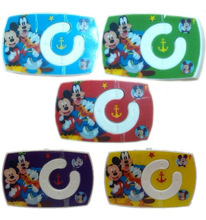 Mp3 Mini Shuffle Disney Clip Micro Sd Diseño + Cable Regalo