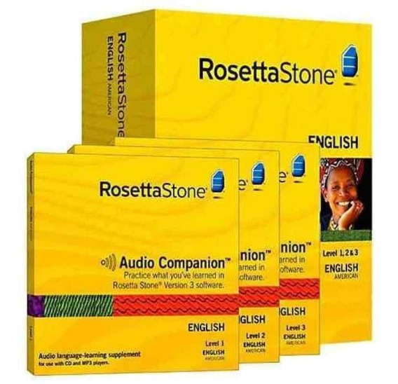 Curso Ingles Rosetta Stone V 5.11.2 2019 - Envio Online *tm*