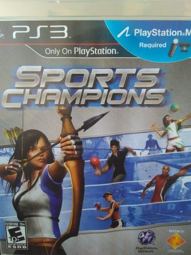 Sports Champions Ps3 Original(move) , Leia A Descriçao