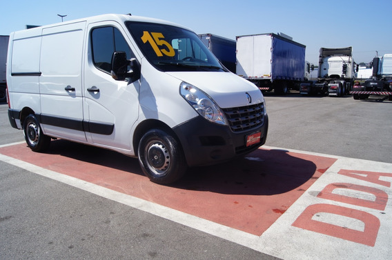 Renault Master L1h1 - Furgão Chassi Curto 2015