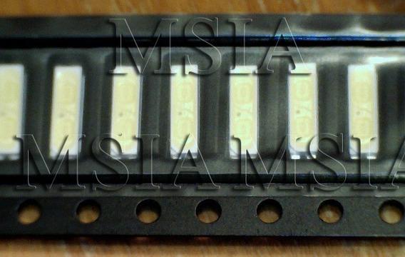 Lote 30 Pçs Led Branco Smd 7020 3v 0,5w Backlight Tv. Msia &
