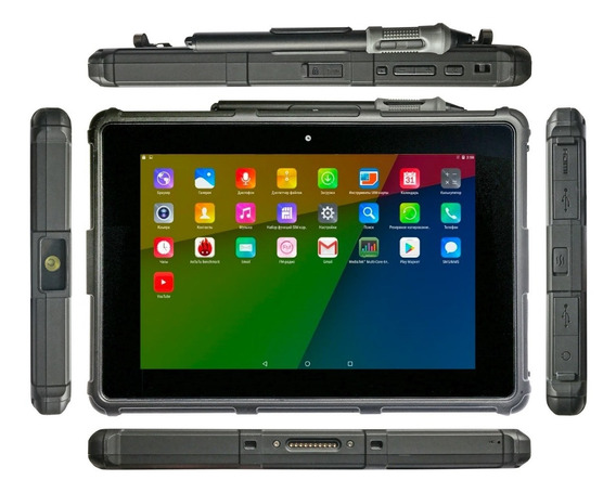 Tablet Industrial Rugged Bak Usa Intel Android +4g+gps+ Nfc