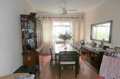 Apartamento 3 Dormitórios Na Ponta Da Praia, Santos -sp