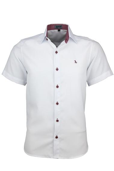 Camisa Dinamo Manga Curta - Branco - Ref 1614