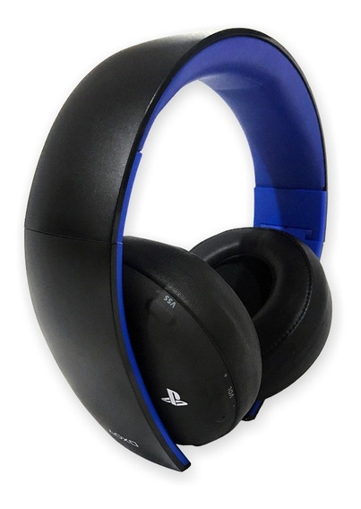 Fone De Ouvido Playstation Ps4 Sony Headset Gold 7.1 Pc