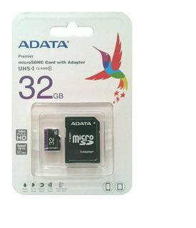 Cartão De Memória Micro Sd 32gb Tf + Adaptador