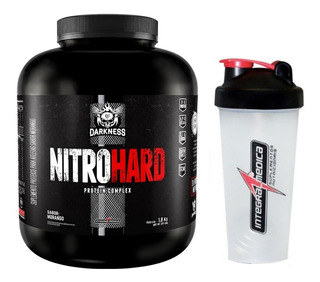 Whey Nitro Hard 1,8kg Integral + Coqueteleira Brinde