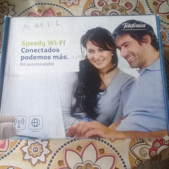 Modem Wifi Speedy Kit Autoinstalable