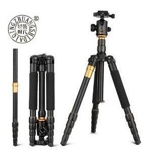 Tripé Q-666 É Compatível Com Todas As Câmeras E Filmador