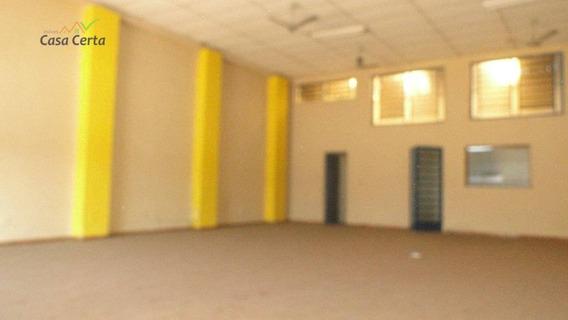 Salão Comercial Para Locação, Centro, Mogi Guaçu. - Sl0041