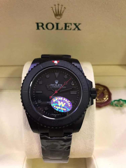 Relógio Rolex Bamford - Preto Fosco
