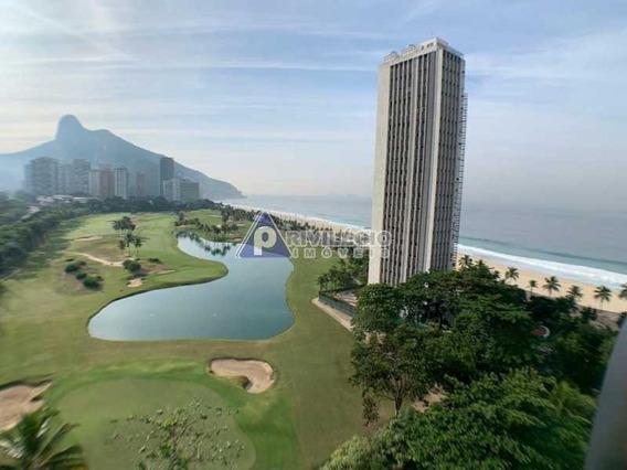 Apartamento À Venda, 3 Quartos, 2 Vagas, São Conrado - Rio De Janeiro/rj - 2788