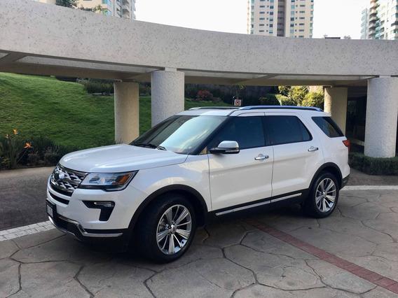 Ford Explorer Limited Fwd 2018, 5,000km Como Nueva!