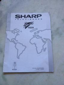 Manual Do Televisor Sharp C 7453. C 2053