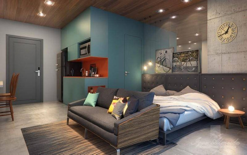 Imagem 1 de 8 de Studio Com 1 Dormitório À Venda, 44 M² Por R$ 575.000,00 - República - São Paulo/sp - St0134