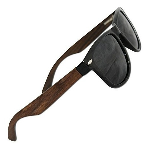 Gafas De Sol De Mujer Polarized Wood Sunglasses For Men &