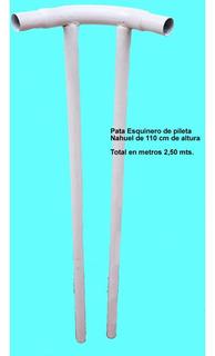 4 Repuesto Pata Esquinero Pileta Nahuel 5x240x110 Y 6x3x110