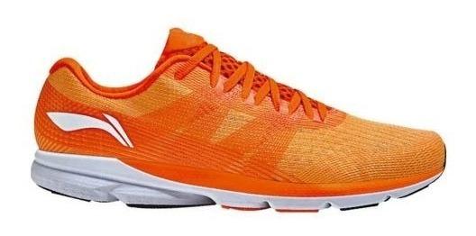 Tenis Li-ning 0453 Naranja 100% Originales Hombre