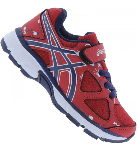 Tênis Asics Lightplay 3 Infantil Ps - Original